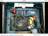 Bosch 110volt sds hammer drill with chisel action
