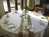 Huge joblot of crockery/china tea set - wedding/christening/vintage/tearoom/occasion/afternoon tea