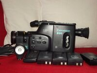 Canon Canovision camcorder and accessories
