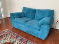 Sofa (Teal 2 seater)
