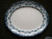 Vintage LATEMAYERS K&C 's 1790 WARWICK Large Platter 46cm