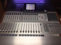 Tascam DM-3200 mixing desk interface