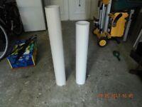 Manrose Cooker Hood Rigid Pipe Ducting 125mm dia