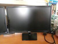 2x LG E2442-TC (E2442TC) 24-inch TFT LED LCD Monitor