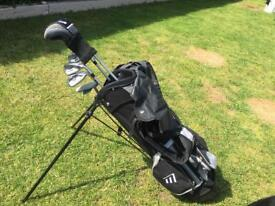 Junior masters golf set with trolley