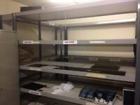 VARIOUS RACKING AND SHELVING FOR SALE FROM £10.00 , BUYER COLLECTS FROM ST HELENS, MERSEYSIDE