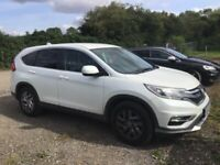 Honda, CR-V, Estate, 2015, Manual, 1597 (cc), 5 doors
