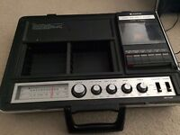 Vintage portable cassette deck Sanyo G-2600