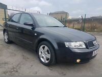 2004 04 REG AUDI A4 1.9 TDI SE, 130 BHP, AUTOMATIC, FSH, HPI CLEAR, RECENT SERVICE, GOOD CONDITION