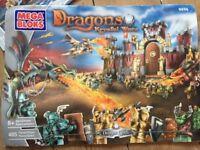 Mega Bloks (Lego) 5 complete sets Dragons Krystal Wars