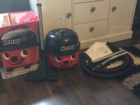 Henry Hoover brand new condition with all original accessories