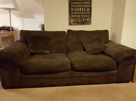 3 seater sofa from DFS, excellent condition. Selling as wont fit in new house