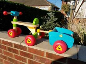 Early learning centre trike and trailer