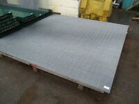 Galvanized 358 Security Mesh 2.4m high x 2.5m wide @ £150 each including VAT.