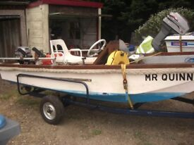 fast fisher/ fun boat 13 ft dory