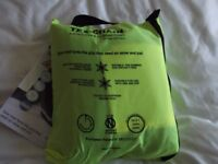 snow chains , snow socks by tex chain ,size large brand new in packaging ,