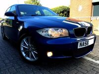 2007 BMW 1 SERIES ,116 i , 1.6 PETROL M SPORT, EXCELLENT CONDITION, PART EXCHANGE WELCOME