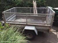 7FT x 4FT 4IN Trailer with new tyres.