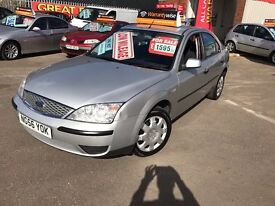 FORD MONDEO 1.8 LOW MILEAGE 12 MONTHS MOT AND 3 MONTHS WARRENTY