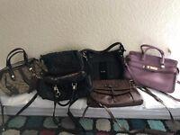 Assortment of Ladies Guess Handbags 6 in total