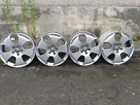Genuine Audi s-line 17 inch Alloys for sale. 5x112. No tyres.