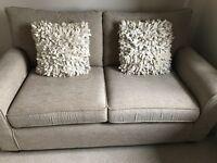 2 natural cushions (£5 for both)