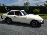 1981 MGB GT (Price reduced for quick sale)
