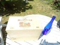 EMPTY BORDEAUX WINE BOX