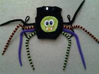 Toddler spider Halloween outfit