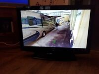 Hitachi TV with built in Free View