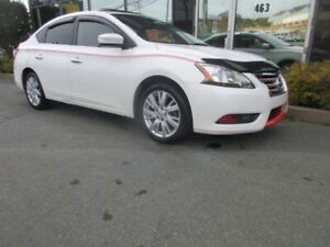 2013 Nissan Sentra SL W/ ALLOYS LEATHER HEATED FRONT SEATS DUAL