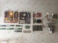 Pc/computer part bundle £15 Ono
