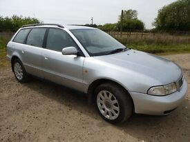 AUDI A4 1.8 AVANT 1998 VERY GOOD CONDITION FOR YEAR