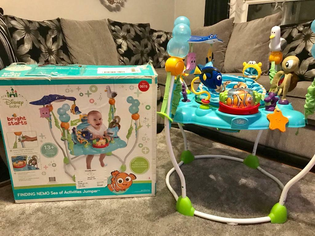 5274afd25 Disney Baby Finding Nemo Sea of Activities Baby Jumper Jumperoo ...