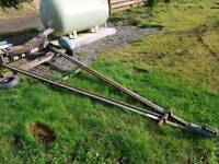 Yaught boat launch trailer for spares or repairs