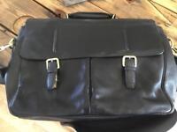 John Lewis Salzburg Leather Briefcase