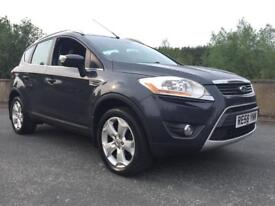 Ford Kuga Titanium 4X4 2.0 diesel manual with sat nav, reversing cam + sensors and heated seats.