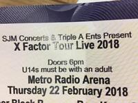 X factor tickets paid £98 each selling for £50 grab a bargain metro arena