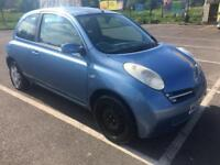 Nissan micra, Automatic, low mileage, 1 year mot