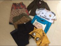 Bundle of clean, good quality boys clothes age 8-9 years