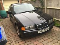 BMW 3 Series E36 Compact.manual 1.9 part service history. very clean.
