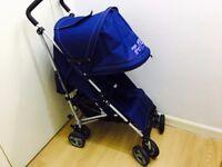 ZeTa Vooom - NAVY Baby Stroller Dark Blue