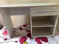 White dressing table / desk