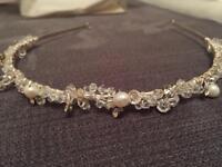 Pearl and beaded tiara