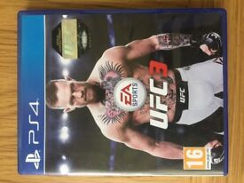 Ufc 3 Ps4 (Played Once)