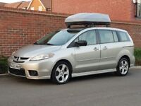 Mazda 5 2.0 Auto MPV (2006/55) LHD + LEFT HAND DRIVE + UK REG + 6 SEATER + AUTO + CAR TOPPER + FSH +