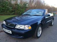 VOLVO C70 2.0 TURBO CONVERTIBLE , MOT MARCH 2019 , GENUINE MILEAGE 59988, STUNNING CAR