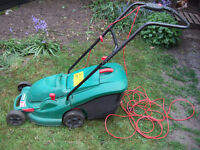 Qualcast Power Trak 34 Electric Rotary Lawnmower - Charity Sale