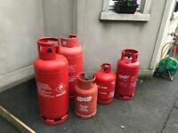 Gas cylinders **REDUCED**