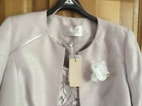 Beautiful dress and jacket suitable for wedding or special occasion